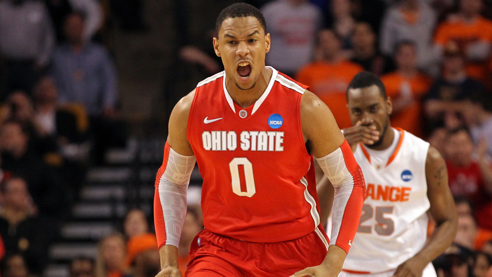 Jared Sullinger playing for Ohio State in 2012.