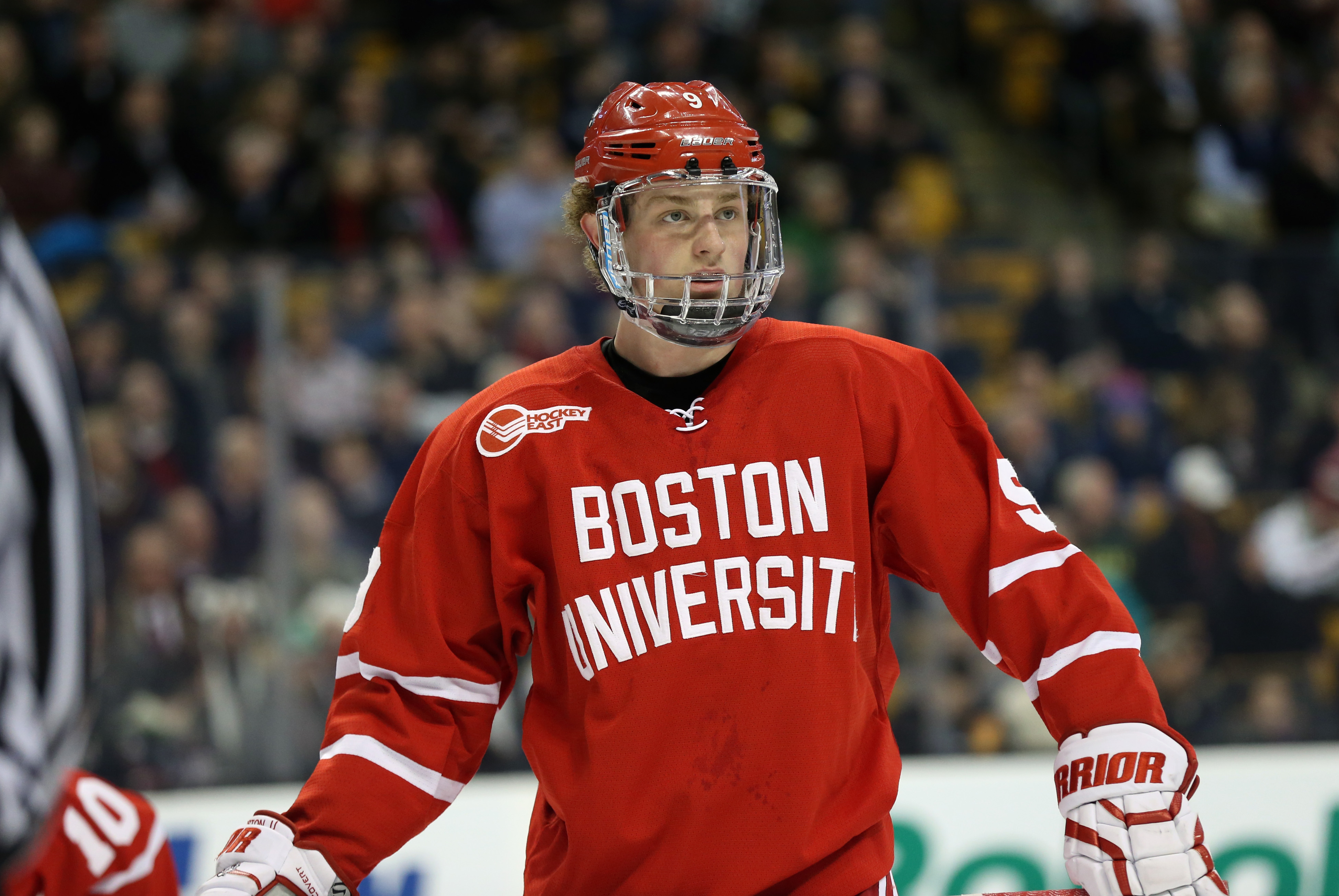 Jack Eichel of Boston University is widely considered as the best player in college hockey.