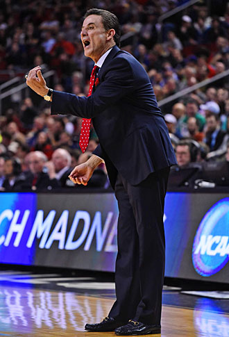 Rick Pitino has guided the Cardinals to the Sweet 16 for the fourth straight season.