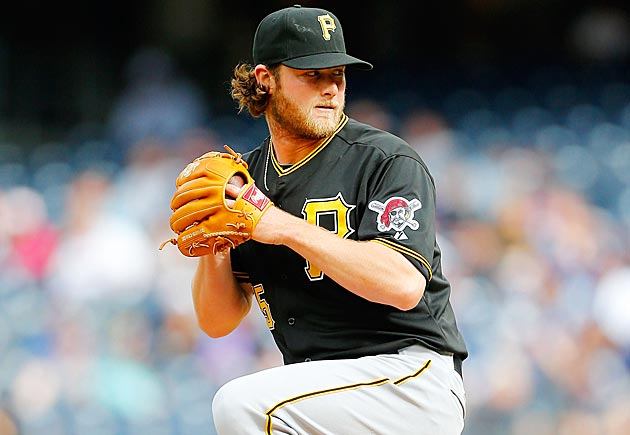 Pirates starting pitcher Gerrit Cole
