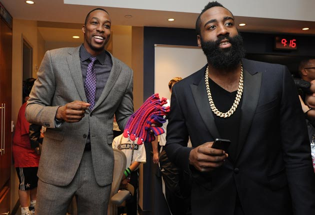 Dwight Howard; James Harden