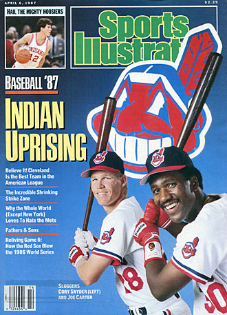 Joe Carter and Cory Snyder, Cleveland Indians