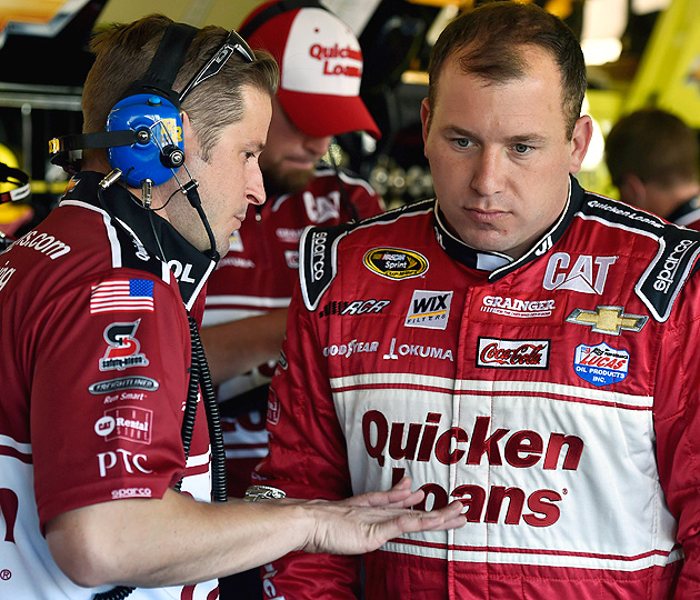 NASCAR docked Ryan Newman 75 points for manipulating tires.