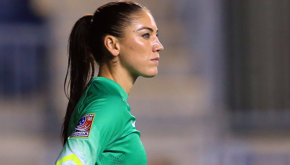 Hope Solo USWNT women's world cup 2015