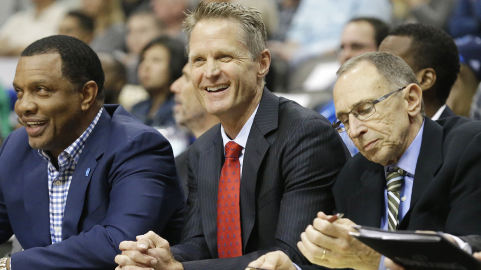 Steve Kerr broke the record for wins by an NBA rookie head coach with his 63rd win.