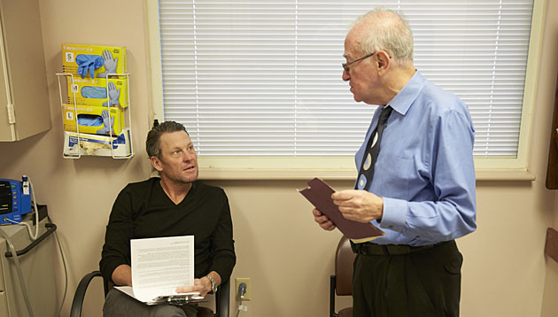 Lance Armstrong and Dr. Larry Einhorn