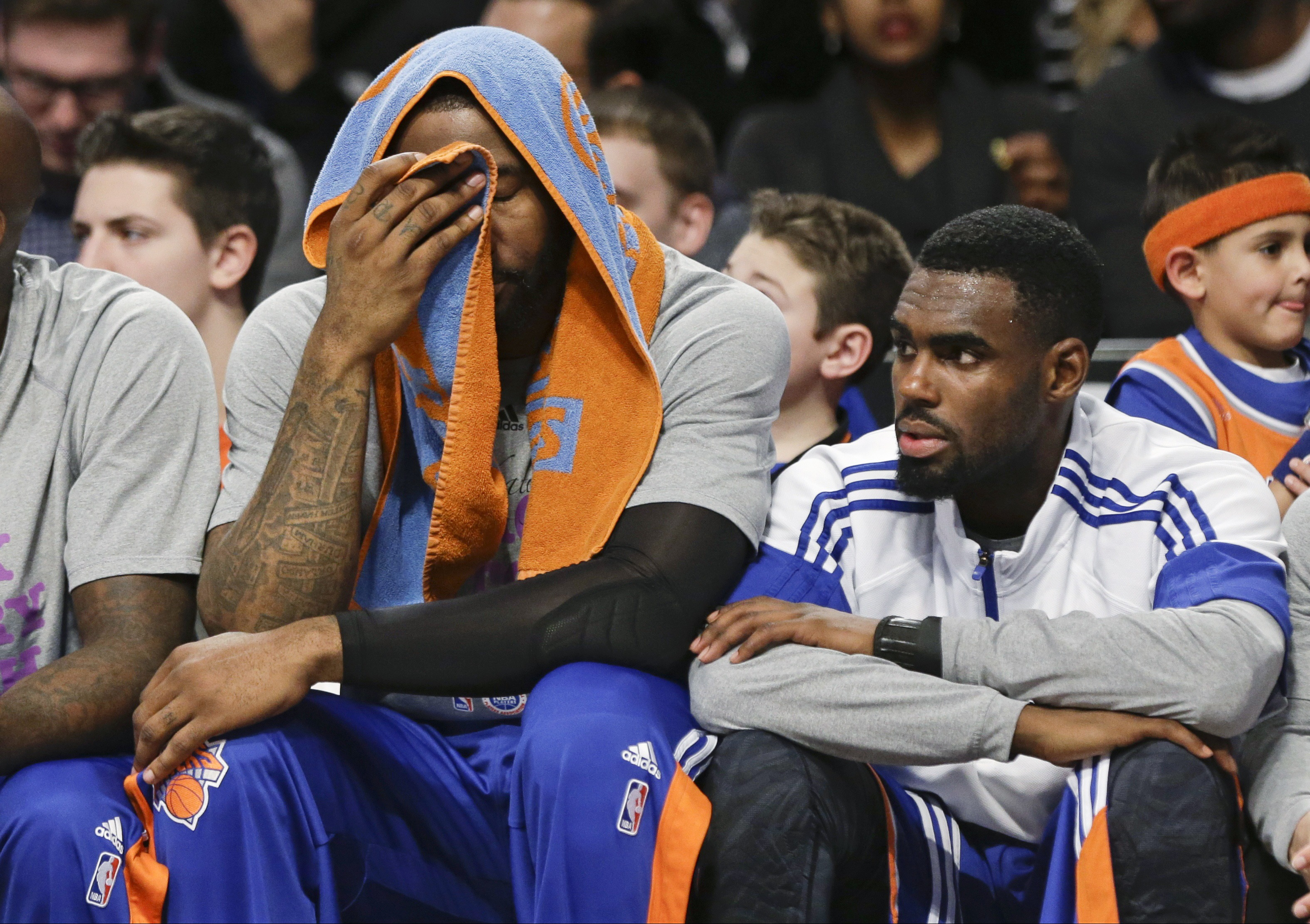 Amar'e Stoudemire silently counting down the days until he never has to put on a Knicks uniform again.