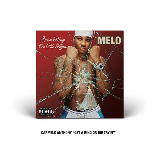 Carmelo Anthony Hip-Hop cover
