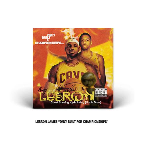 LeBron James Hip-Hop cover