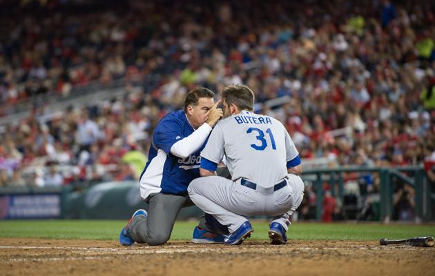 baseball concussions drew butera