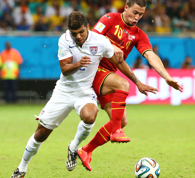 DeAndre Yedlin was named to the United States' 22-man roster for a friendly against Mexico.