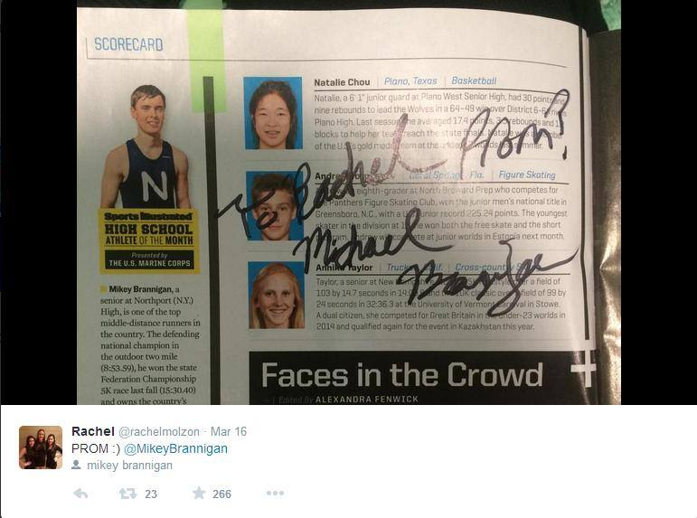 Mikey Brannigan Sports Illustrated