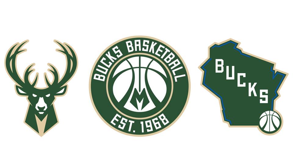 Milwaukee Bucks Unveil New Primary Secondary Tertiary Logos
