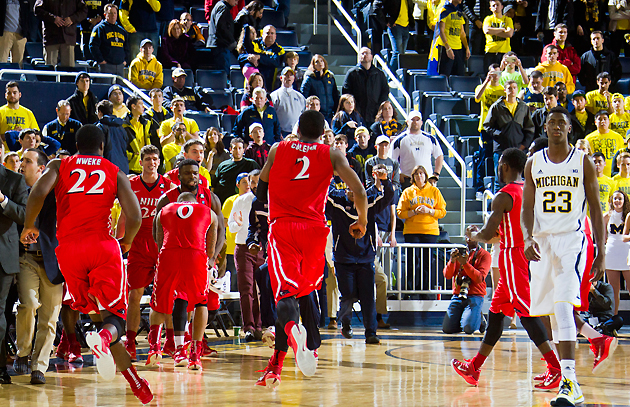 NJIT upsets Michigan