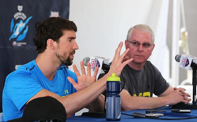 Michael Phelps, Bob Bowman