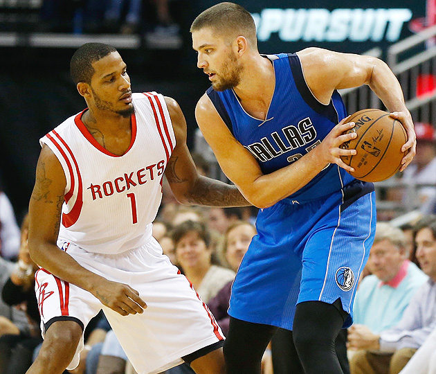 Chandler Parsons and the Mavericks renew their rivalry against the Rockets.