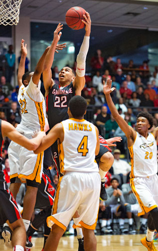 Jayson Tatum of St. Louis's Chaminade College Prep is the top player in the class of 2016.