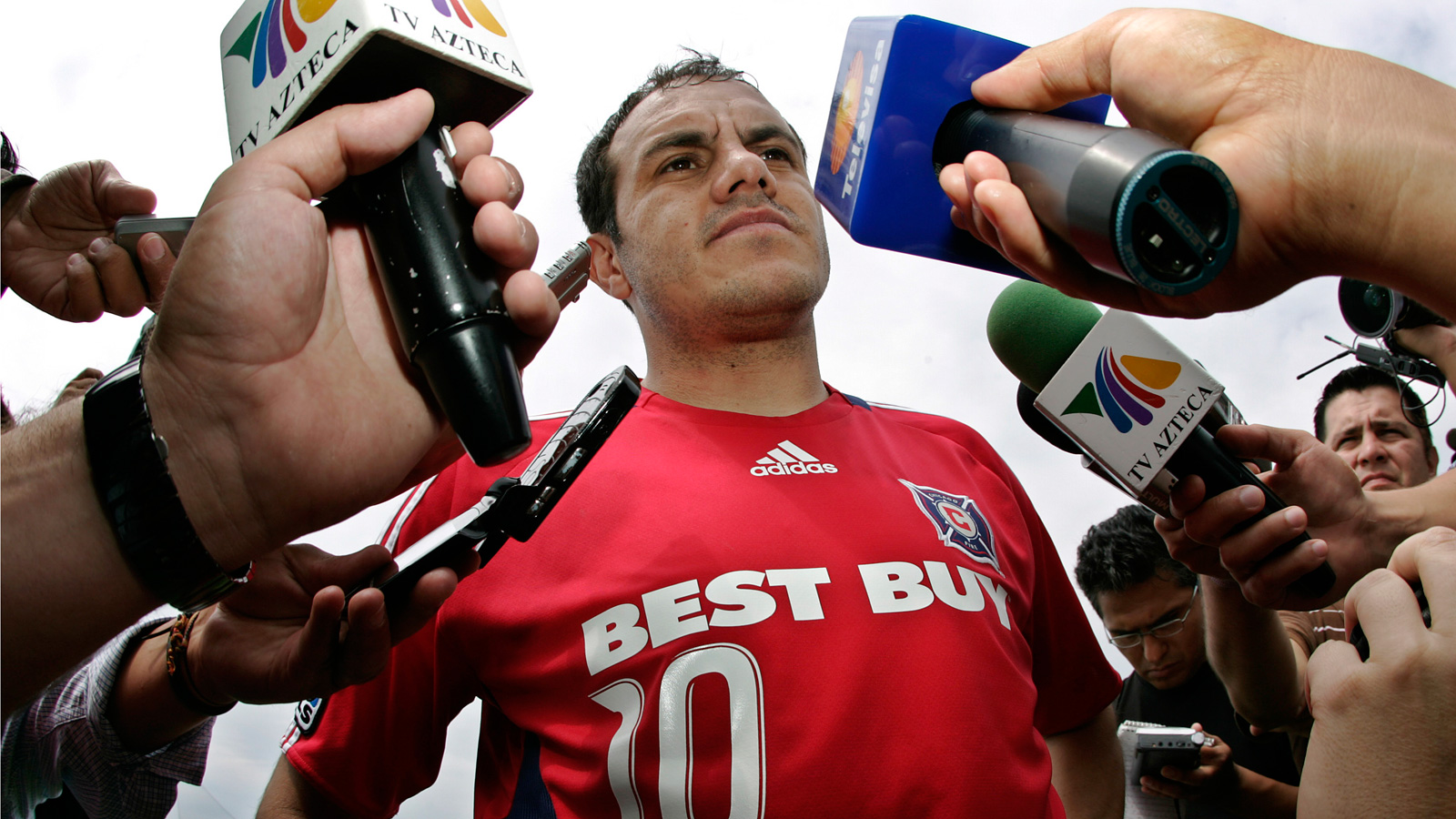 Blanco commanded plenty of media attention during his time in MLS with the Chicago Fire.