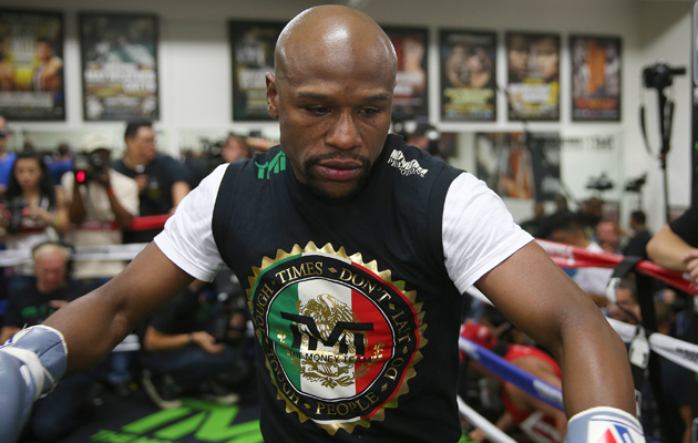 floyd mayweather manny pacquiao training