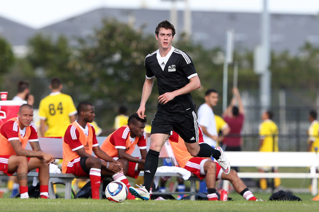 Cameron Porter, pictured above at the MLS Combine, was the 45th overall pick in the 2015 SuperDraft. Little did anyone know he'd score one of the Montreal Impact's most important goals ever.