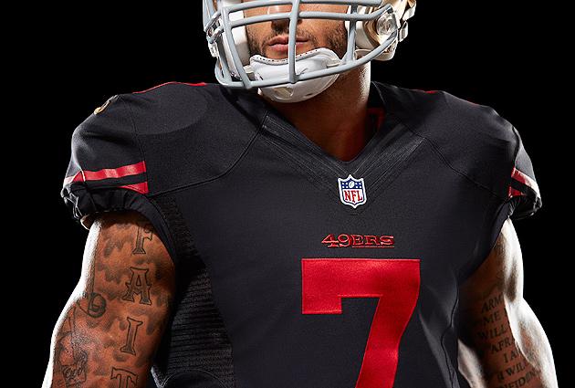 official photos 4c9cc 4b244 San Francisco 49ers uniform: Team unveils new black ...