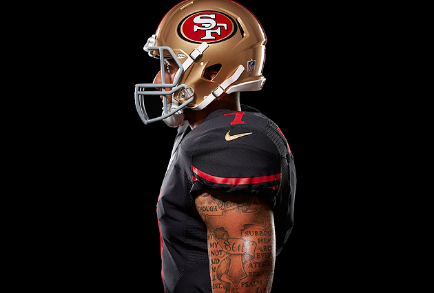 San francisco 49ers uniform team unveils new black alternate si 49ers unveil black alternate uniform voltagebd Gallery