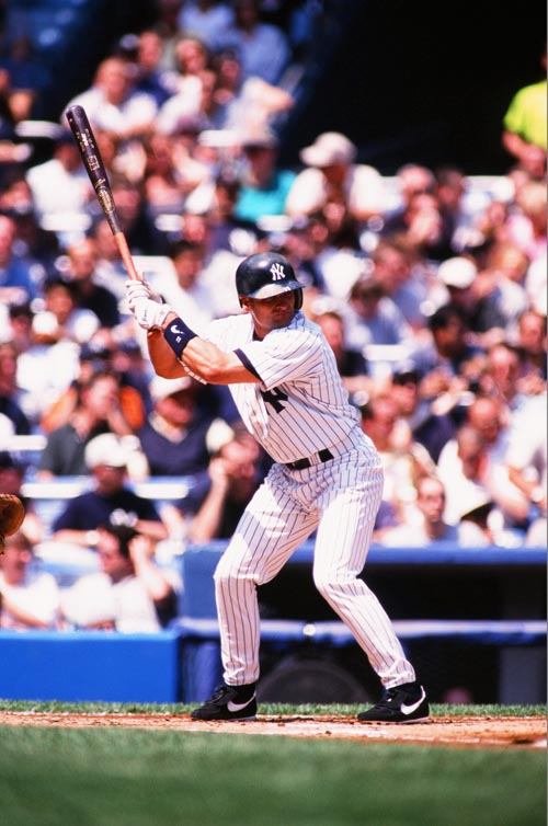 chuck knoblach yankees batting stance