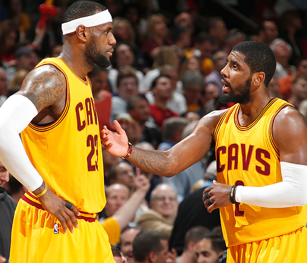LeBron James scored 33 points as the Cavaliers won Game 2 over the Bulls.