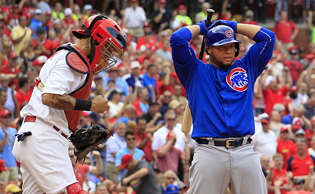 Yadier Molina, St. Louis Cardinals vs. Chicago Cubs