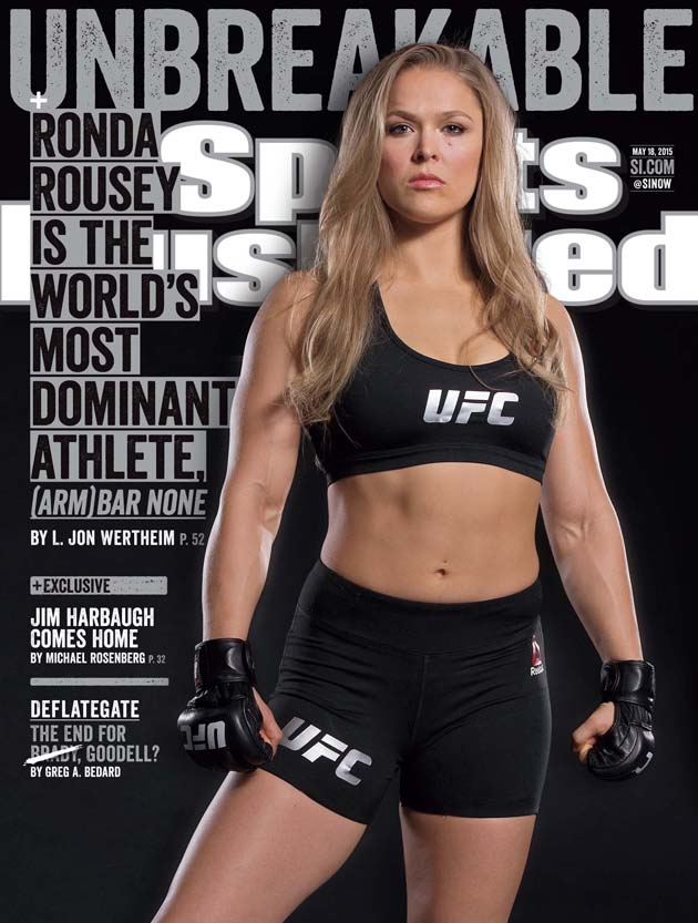 Ronda Rousey SI Cover