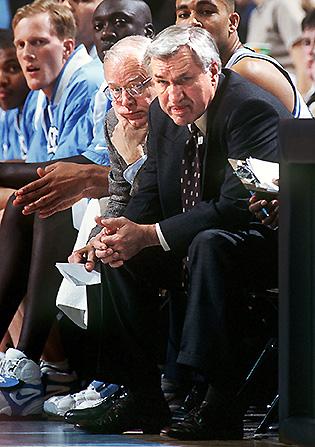 Bill Guthridge and Dean Smith