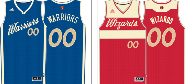 9018393f7a27 NBA Christmas jerseys  Leaked uniforms for 27 teams