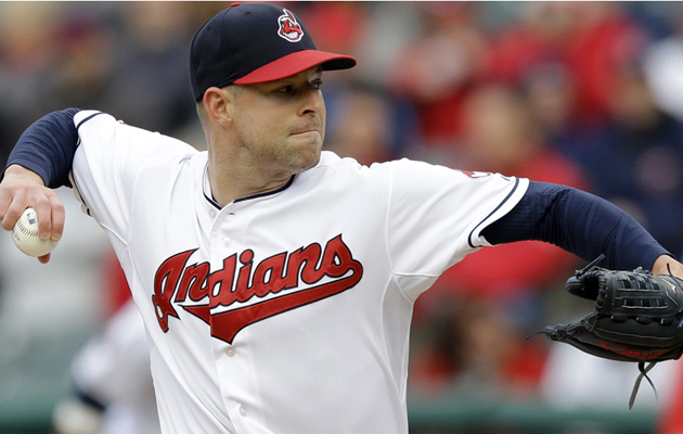corey kluber cleveland indians 18 strikeouts