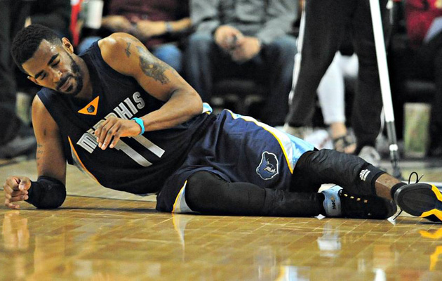 mike conley face fracture injury recovery