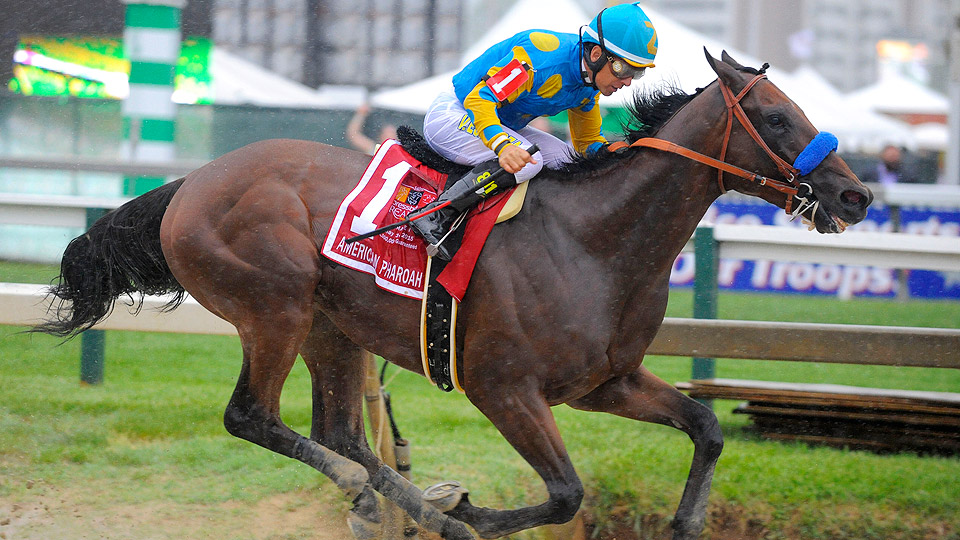 American Pharoah won the 140th running of the Preakness Stakes.