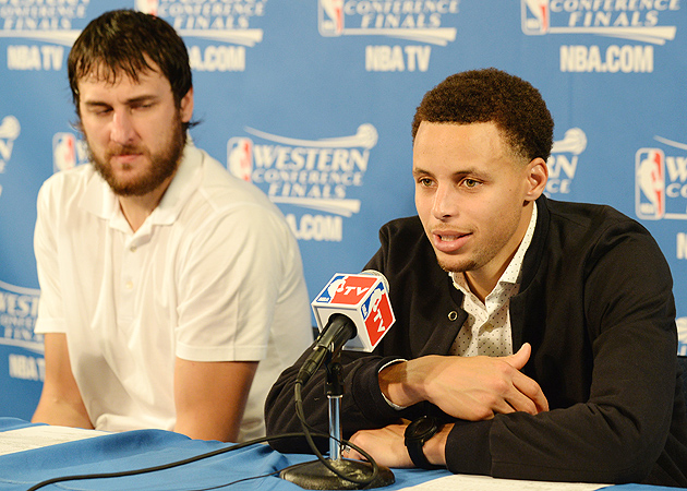 Andrew Bogut, Golden State Warriors defeated the Houston Rockets to take 2-0 series lead.