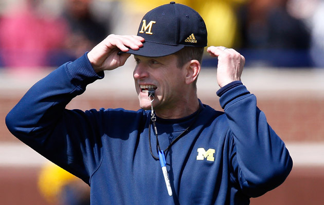 jim harbaugh mom stanford michigan