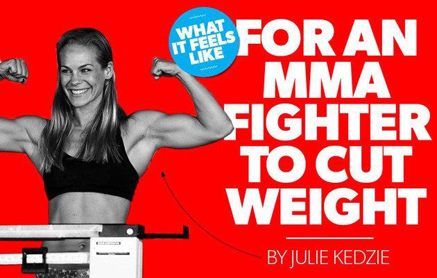 julie kedzie mixed martial arts weight