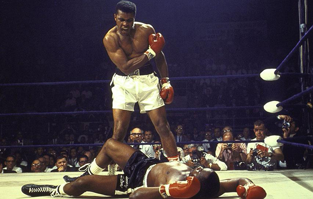muhammad ali sonny liston fight knockout