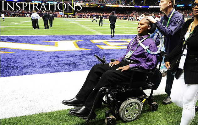 o.j. brigance also smiling super bowl