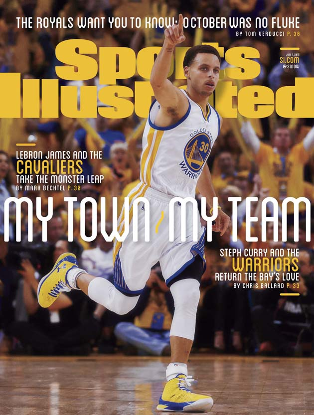 Curry SI Cover