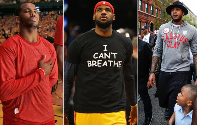nba players speak out police brutality racism