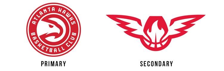 Atlanta Hawks new logos 2015