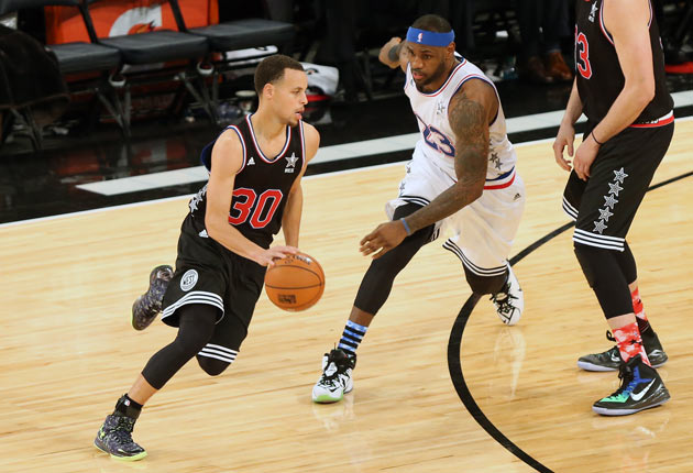 Stephen Curry; LeBron James