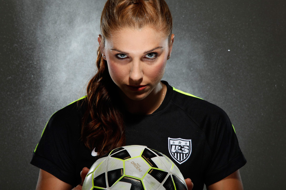 Alex Morgan Inside USWNT Forwards Metoric Rise To The Top