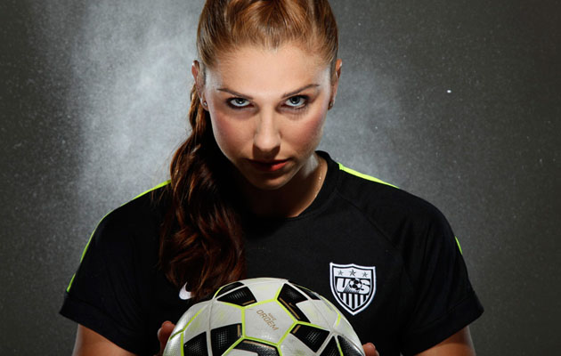alex morgan development star forward