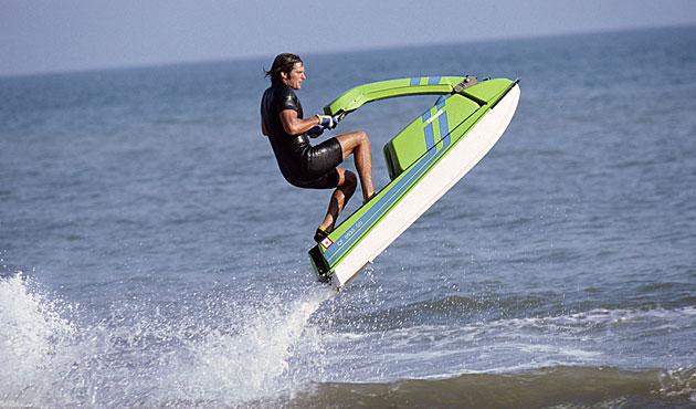 Bruce Jenner jet ski