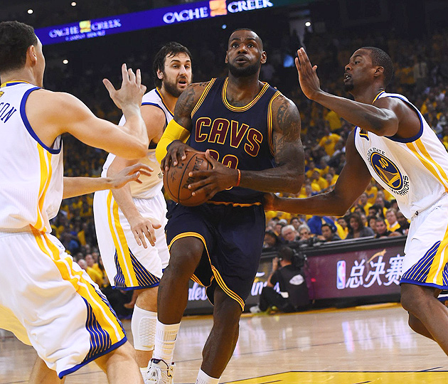 LeBron James, Cleveland Cavaliers lost Game 1 of NBA Finals against Golden State Warriors.
