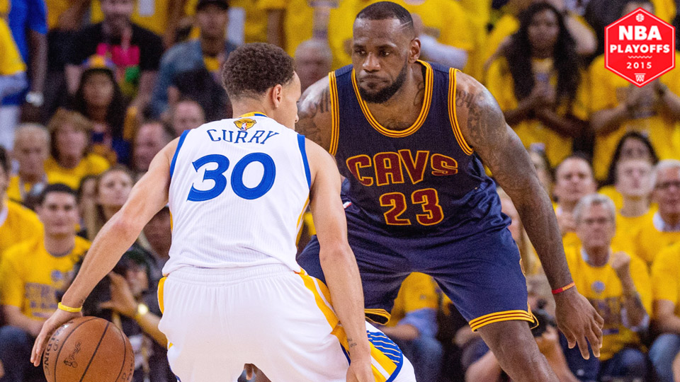 stephen curry warriors outlast lebron cavs in game 1 of nba finals