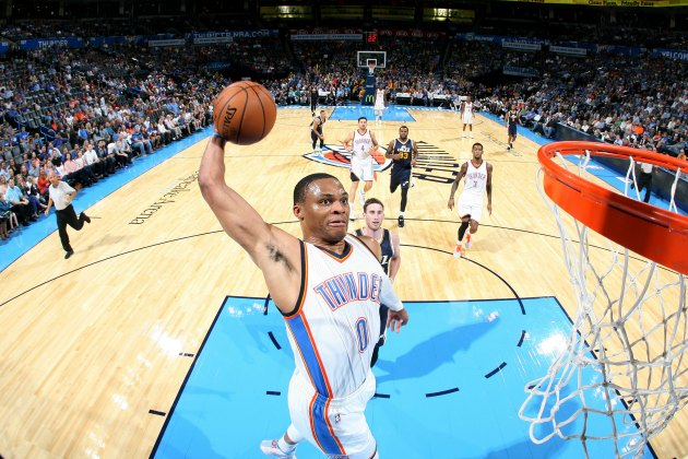 Russell Westbrook is the NBA Live 16 cover athlete